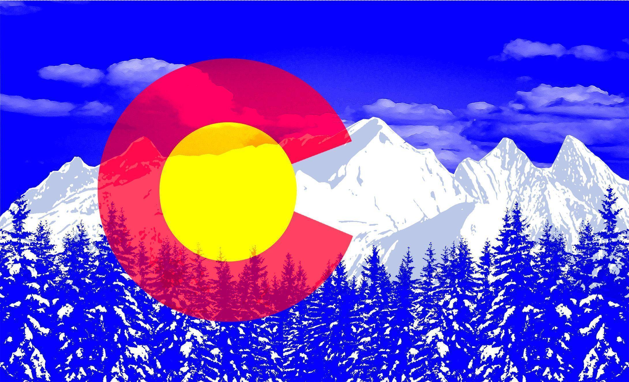 Colorado Flag Pop Art Wallpapers by HD Wallpapers Daily