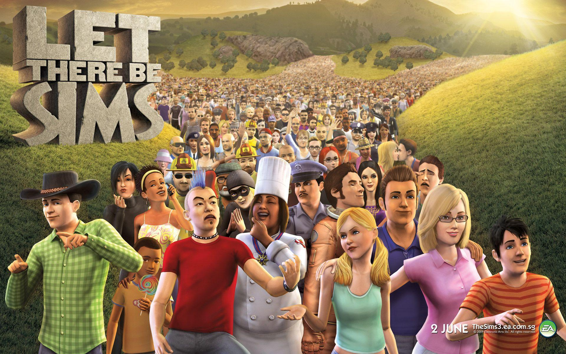 Let There Be Sims - The Sims 3 Wallpaper at Wallpaperist