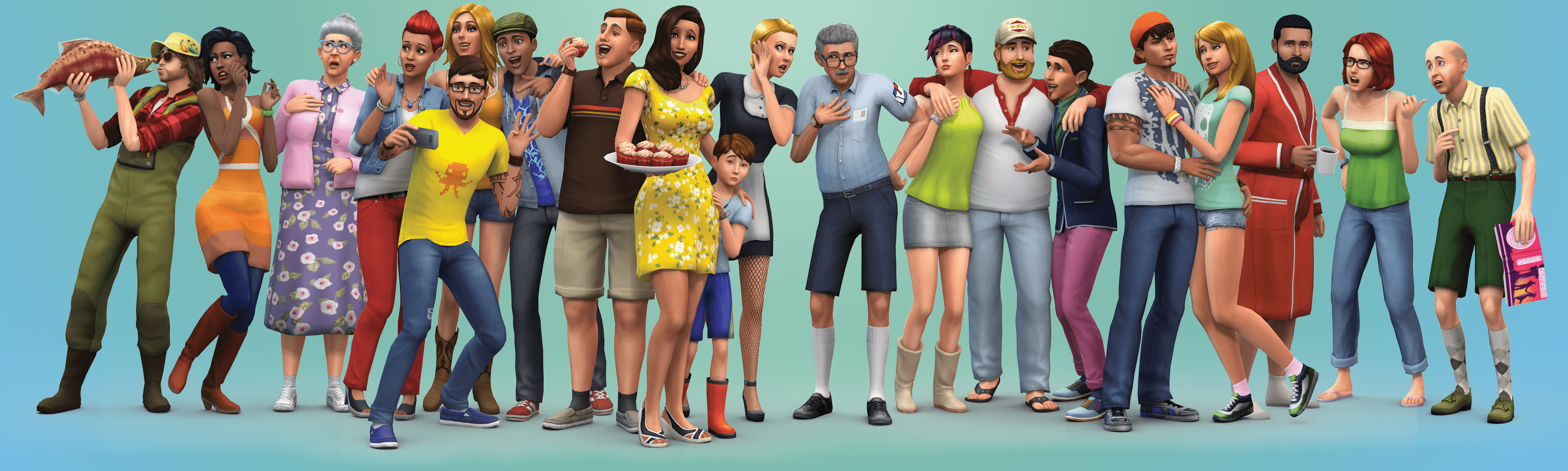 SimFans: New Sims 4 Render + Downloadable Wallpapers!