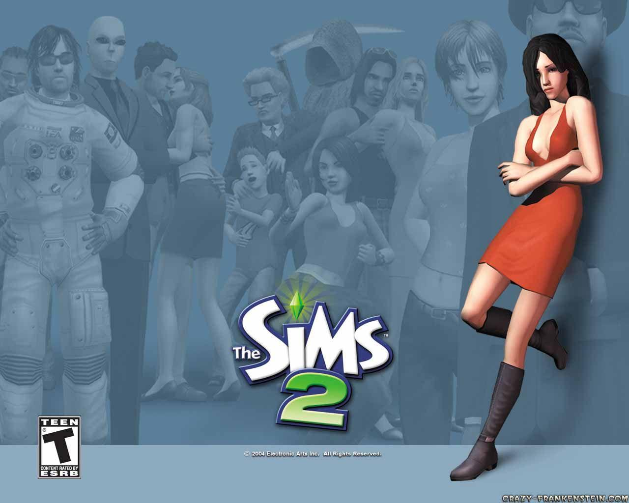 The Sims 2 - Game wallpapers - Crazy Frankenstein
