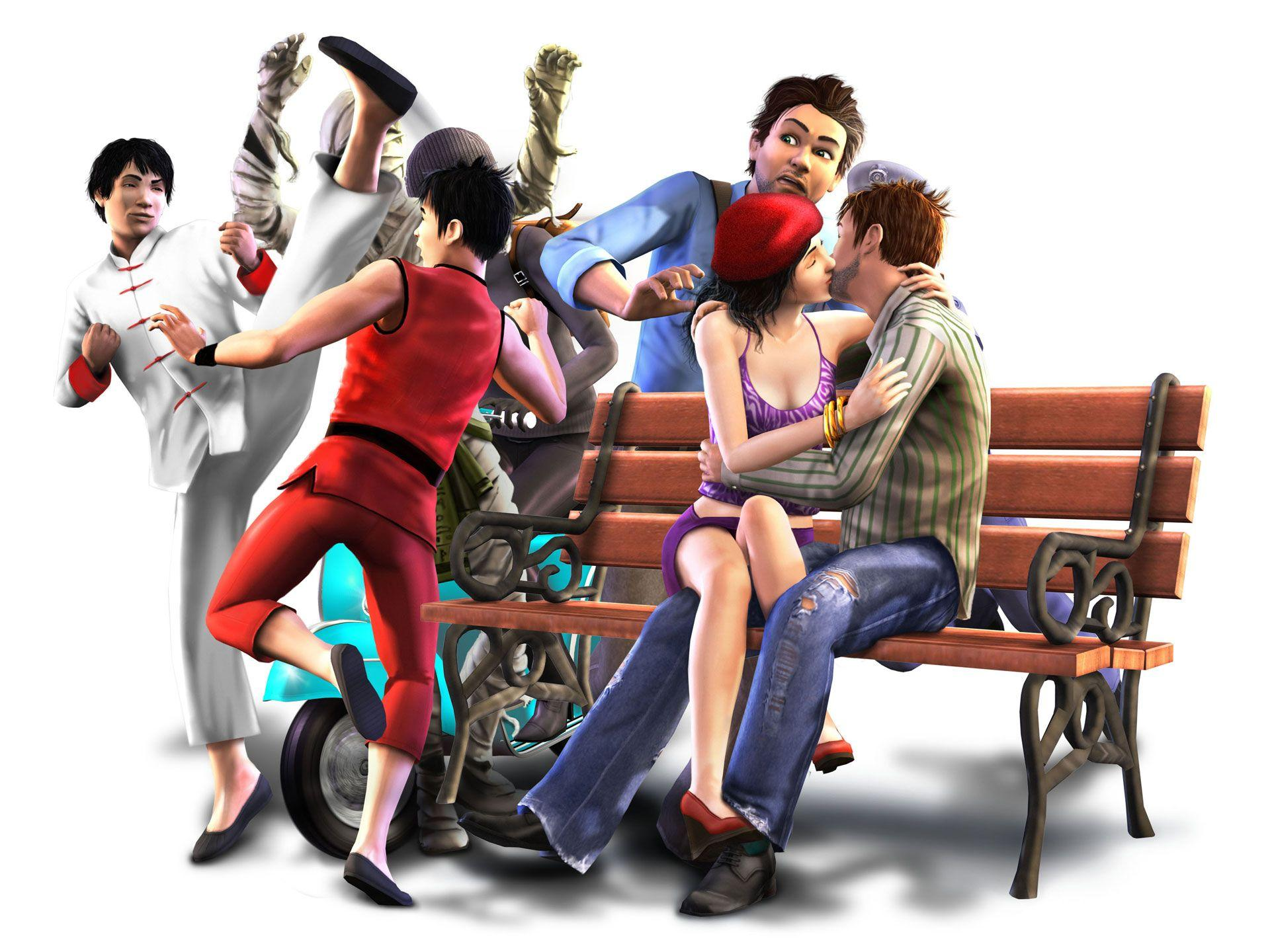 The Sims 3 World Adventures Wallpapers