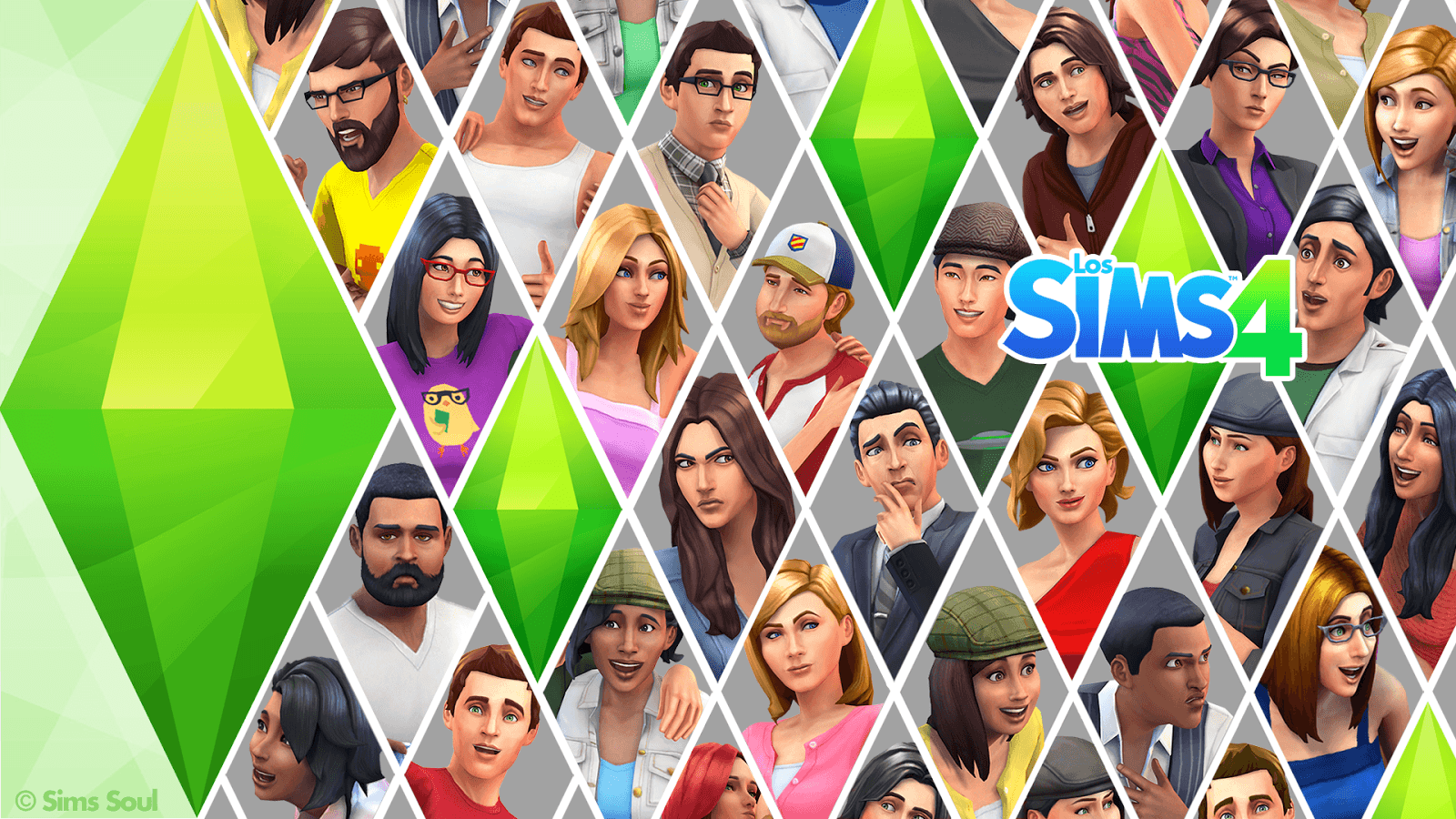 The Sims 4 CC Wallpaper - WallpaperSafari