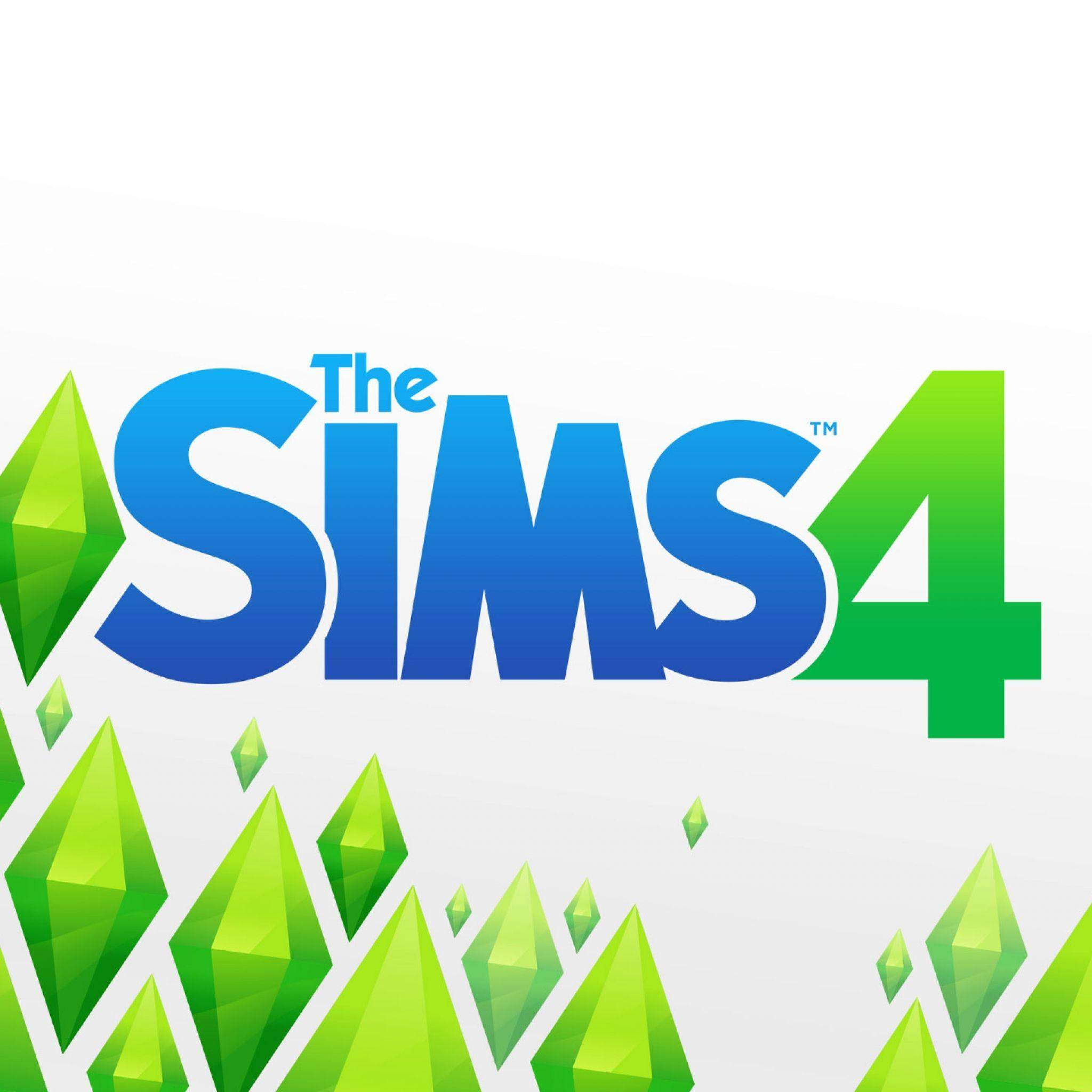 Download Wallpapers 2048x2048 The sims 4, Maxis software, 2014, PC