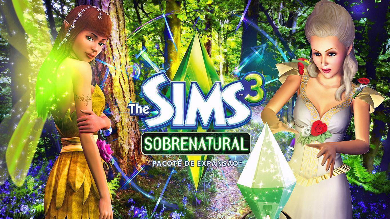 Wallpapers Hahaha Do The Sims Sobrenatural Alala 1366x768 ...
