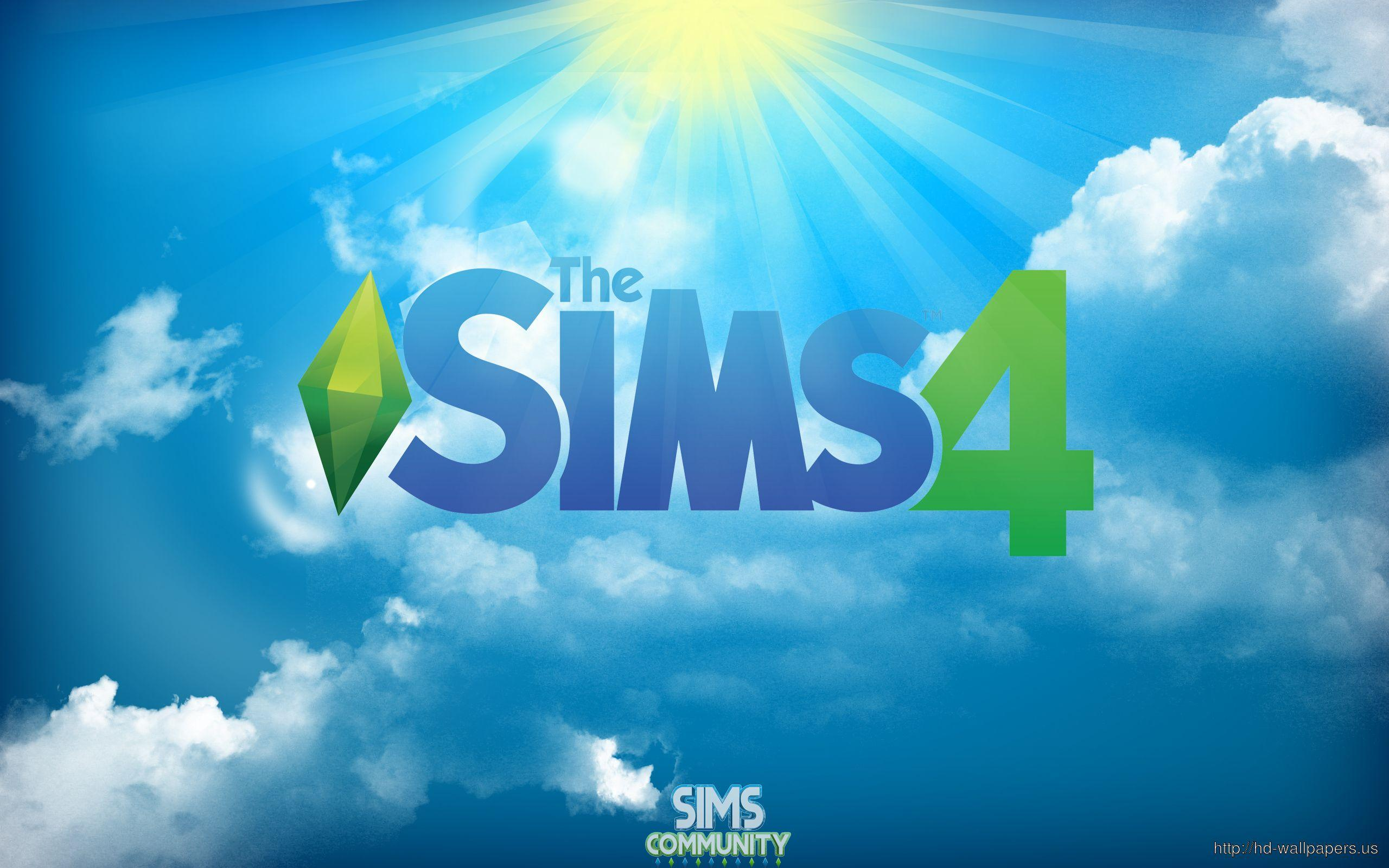 2014 The Sims 4 Logo – Free Download HD Wallpapers