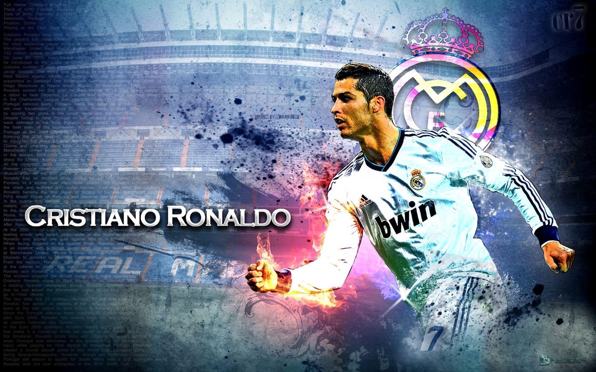 Cristiano Ronaldo HD Wallpaper - HD Wallpapers