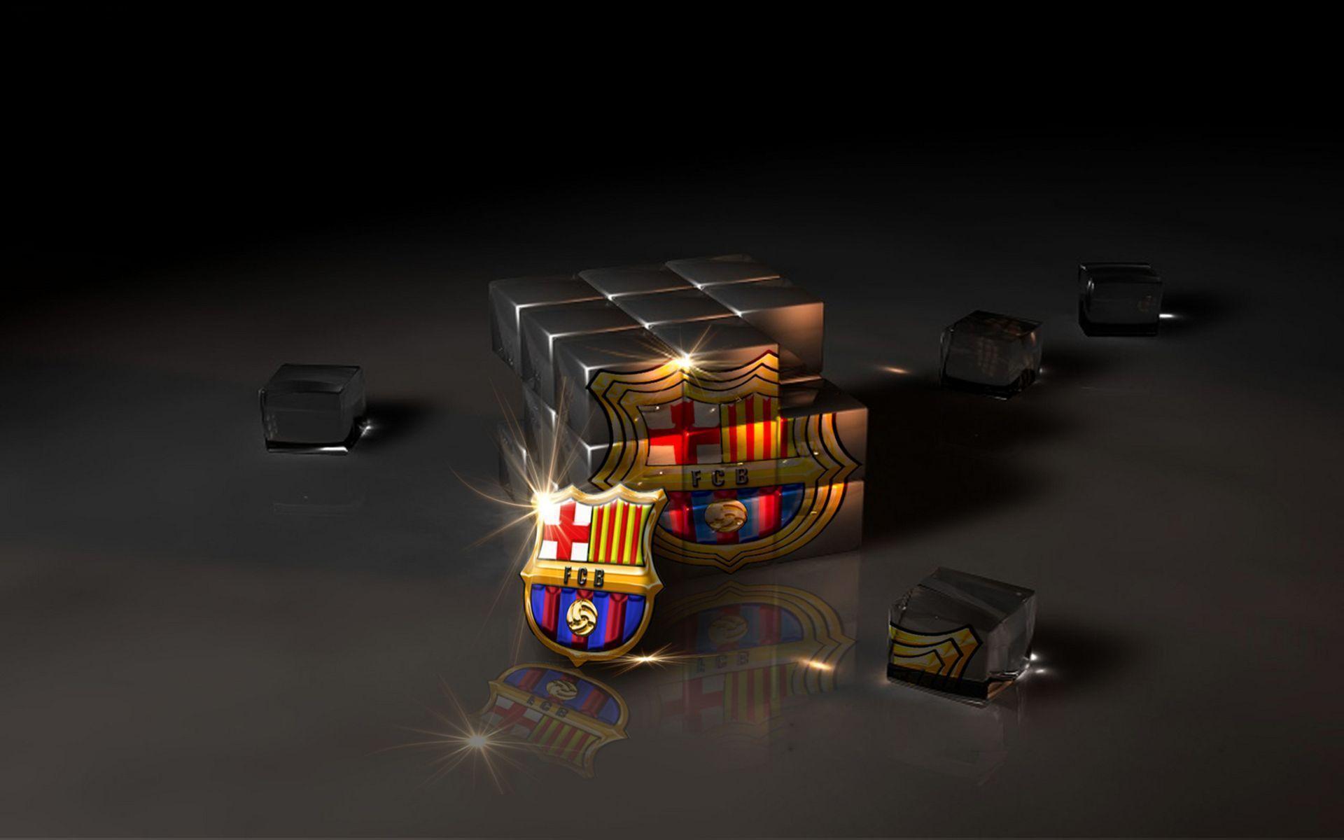 Barcelona Logo Wallpaper | HD Wallpapers, Backgrounds, Images, Art ...