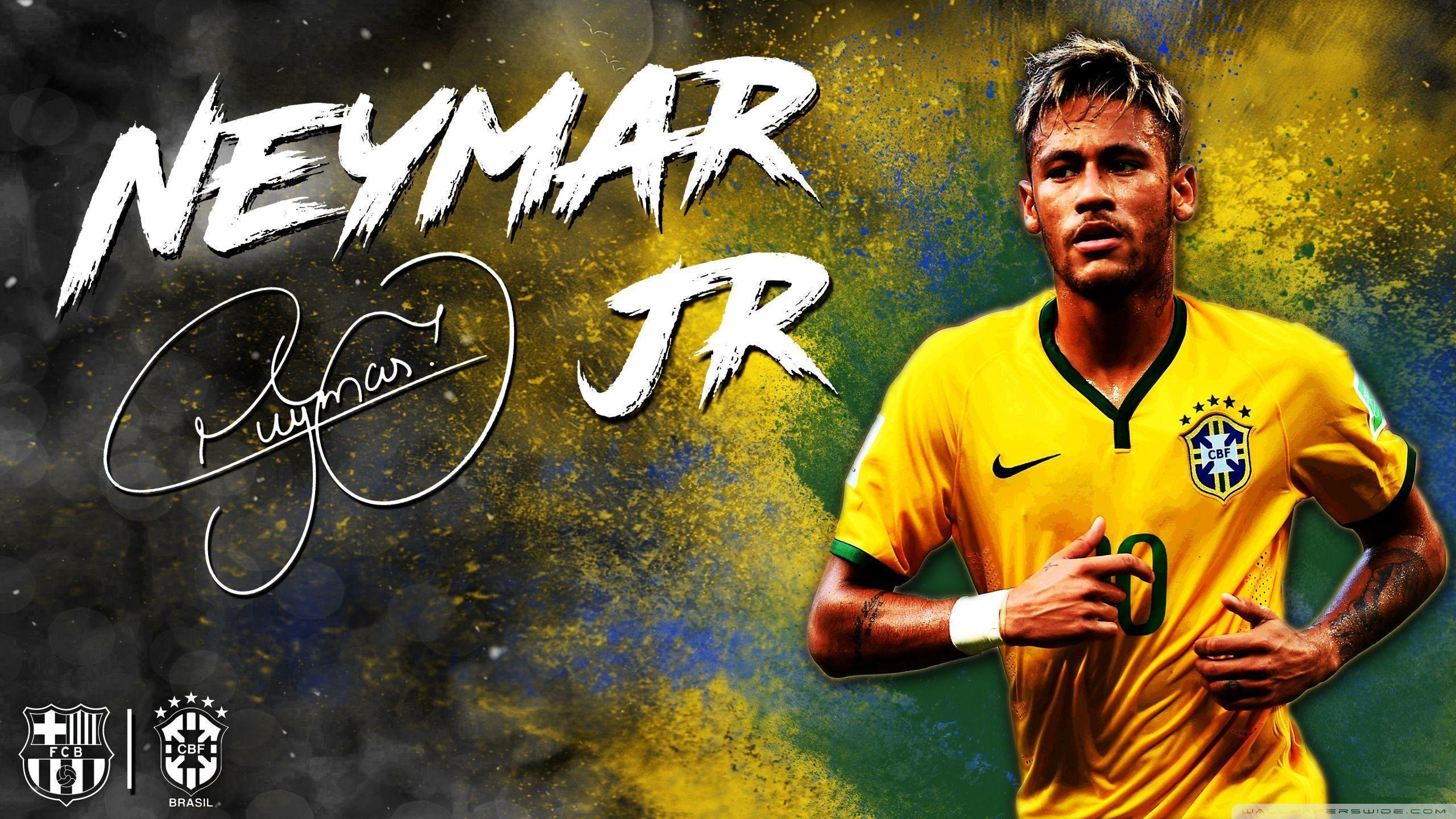 Neymar Jr. Barcelona Brazil HD Desktop Wallpaper : High Definition .