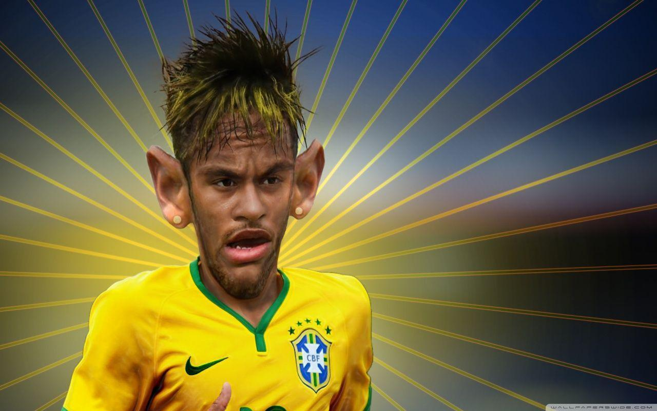 Neymar Jr Transformation HD desktop wallpaper : Widescreen