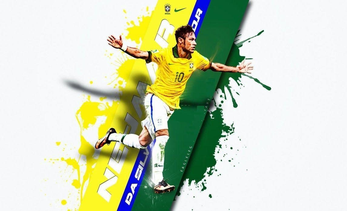 Football World: Neymar Jr Brand New HD Wallpapers 2014
