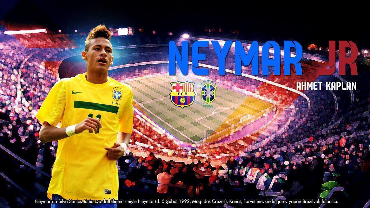 Wallpaper | Neymar JR by tigervolt on DeviantArt