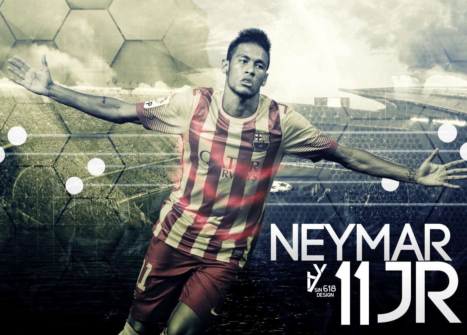 Neymar Junior Fifa World Cup Brazil wallpaper by michaelherradura ...
