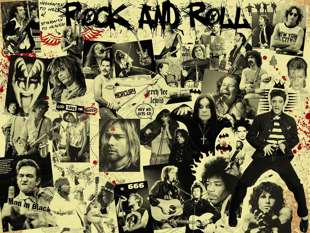 35 Wonderful Rock And Roll Wallpaper - 7te.org