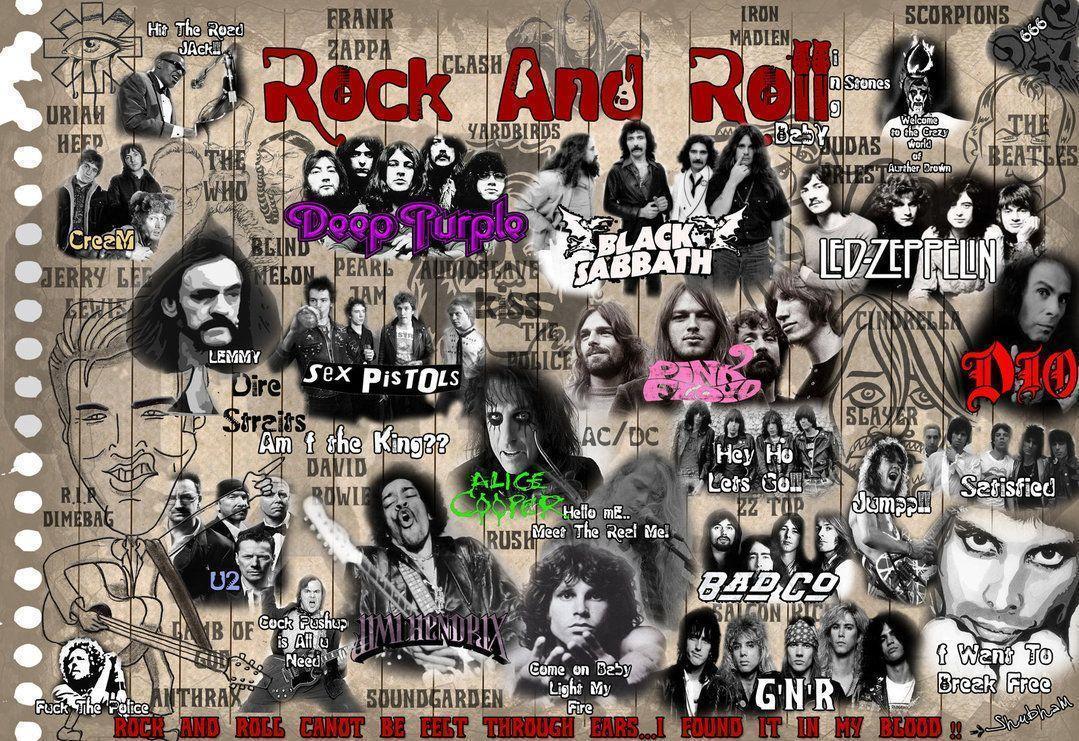 Rock N Roll 50's - wallpaper.