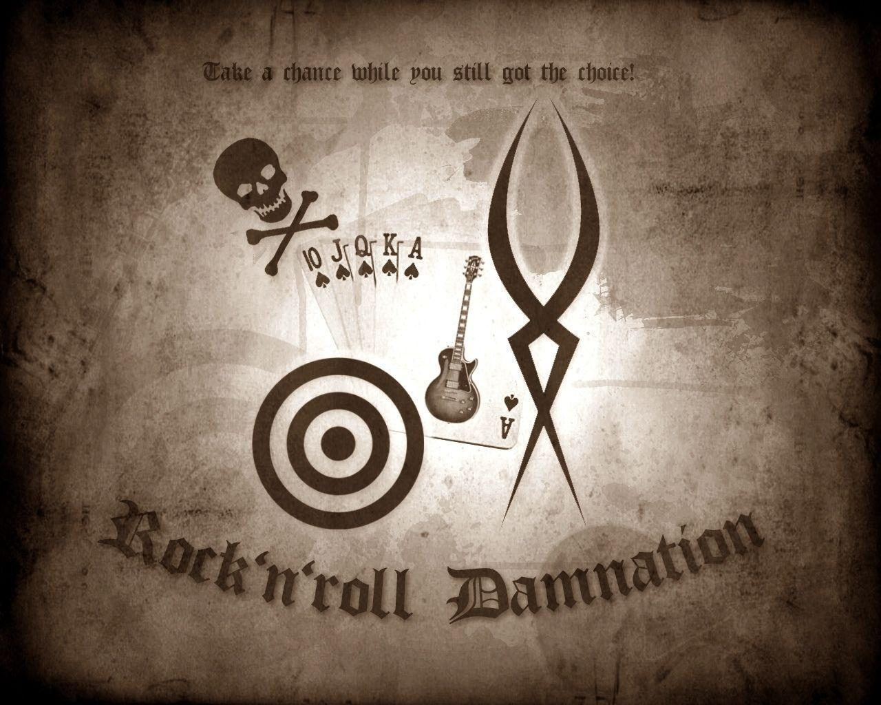 1 Rock'n'roll Damnation HD Wallpapers | Backgrounds - Wallpaper Abyss