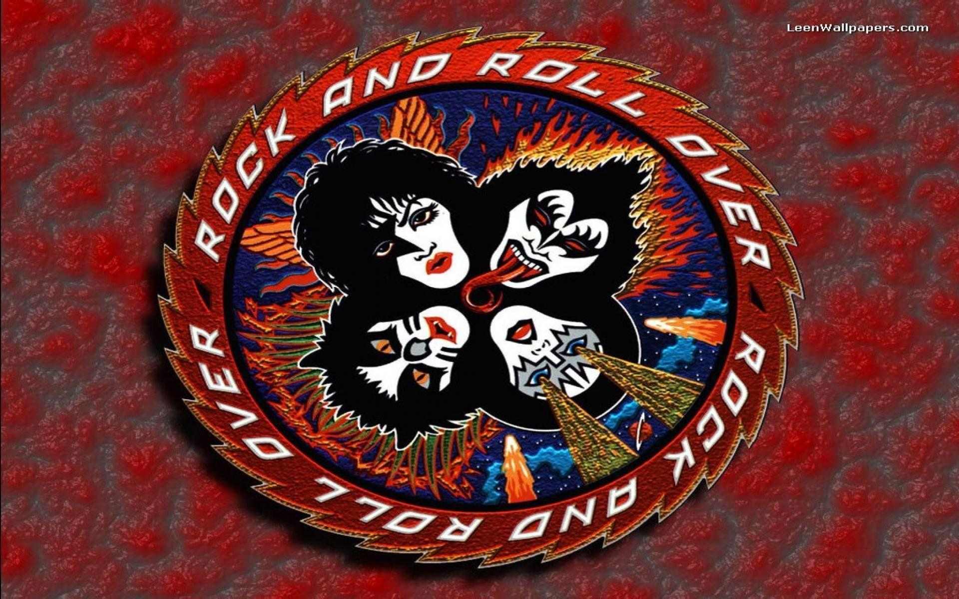Kiss Rock And Roll Over Wallpapers