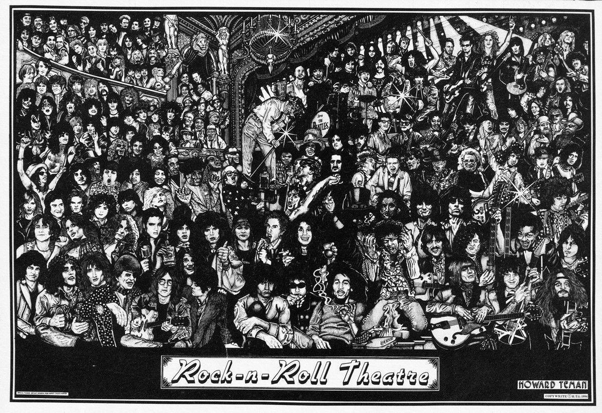 Rock And Roll Wallpaper 84481 | RAMWEB