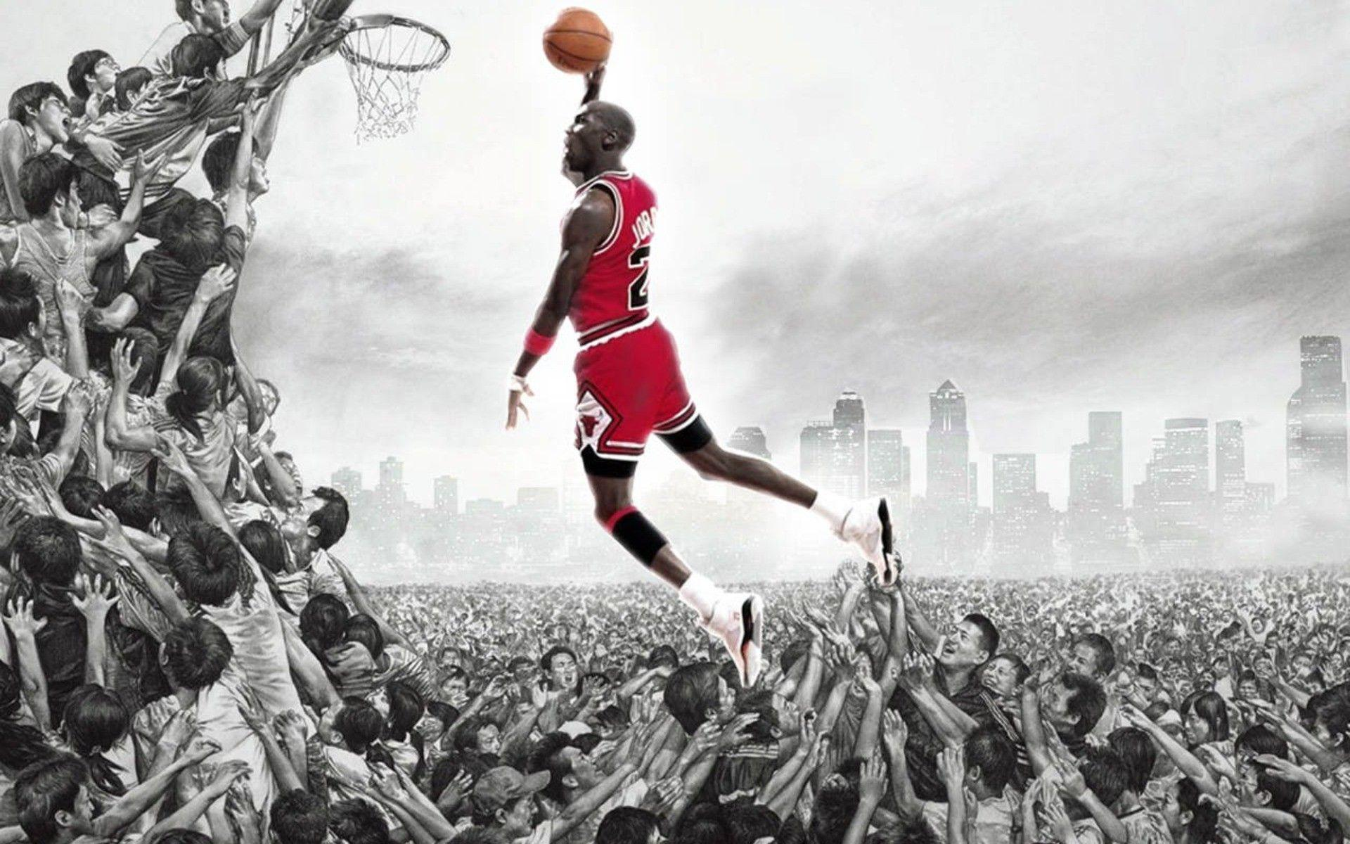 Custom HD 48 Air Jordan Wallpapers Collection