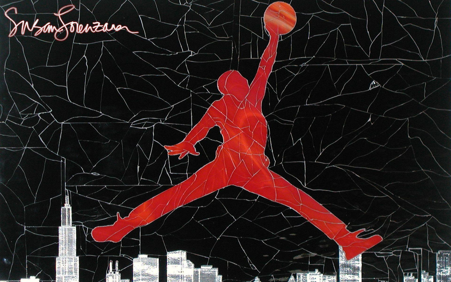 Air Jordan Logo Wallpapers Free Download | HD Wallpapers ...
