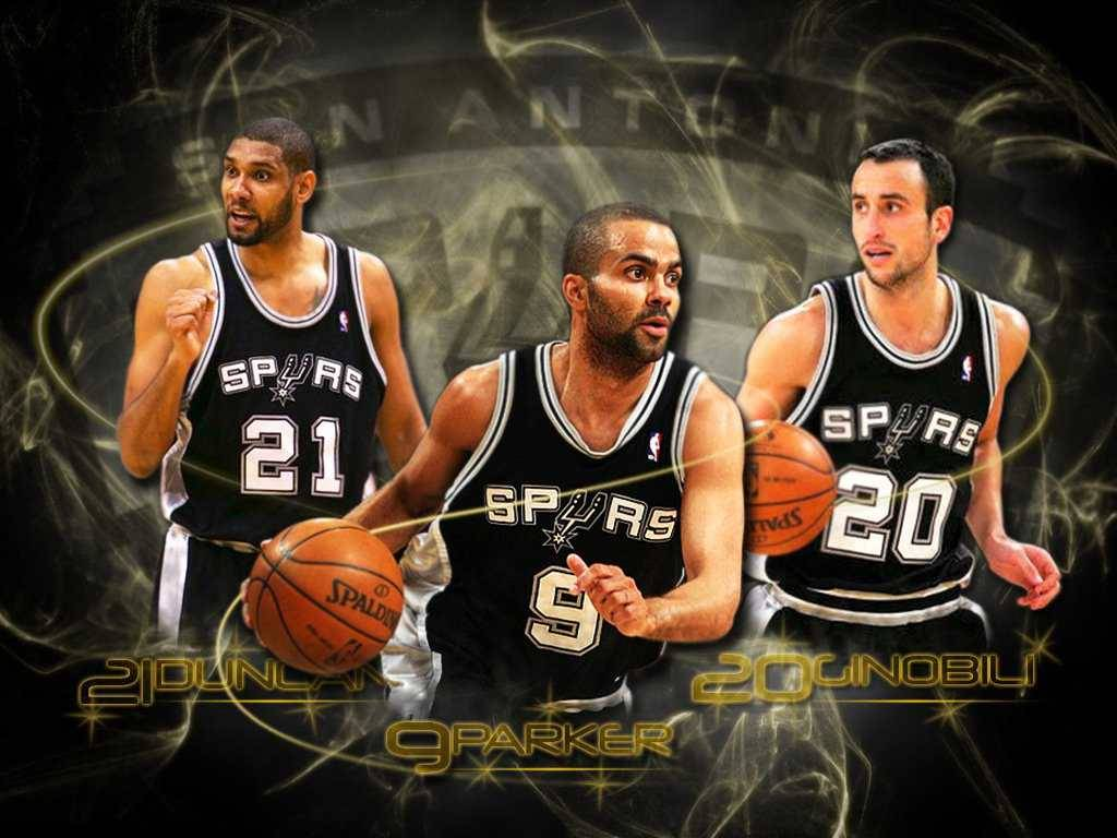 San Antonio Spurs Fans Wallpapers BIG 3 - San Antonio Spurs Wallpaper