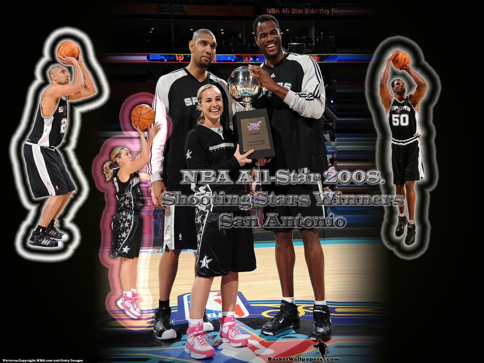 San Antonio Spurs Shooting Stars Wallpaper | Basketball Wallpapers ...