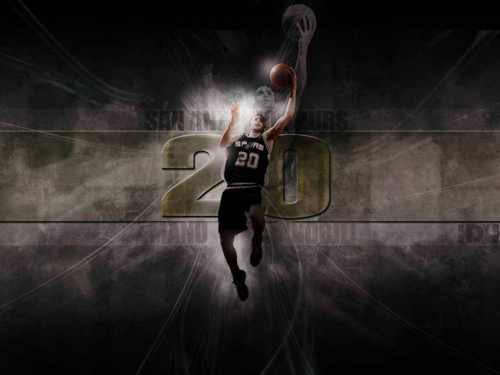 San Antonio Spurs Fans Wallpapers Lay up Manu Ginobili - San ...