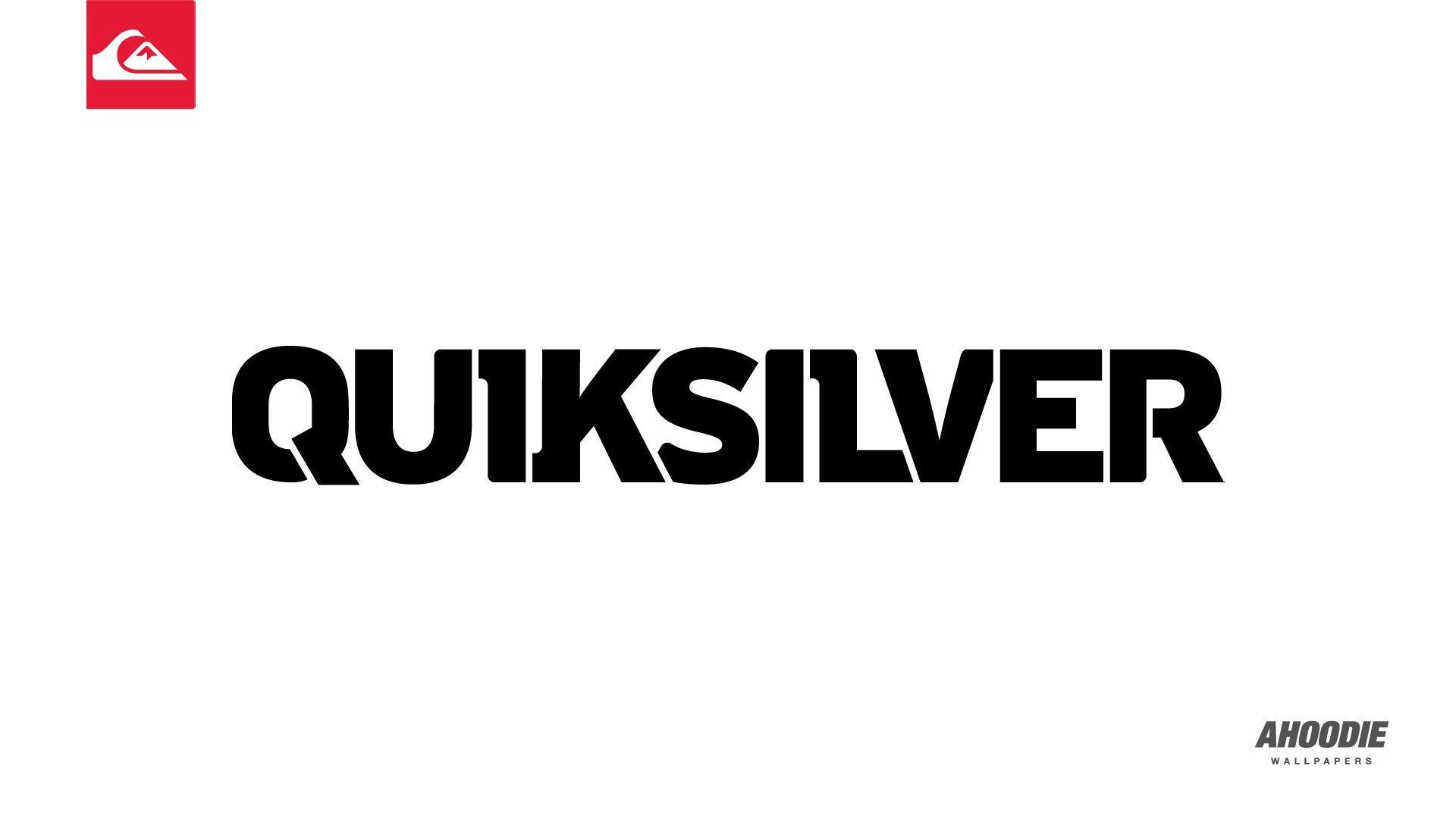 Quiksilver Logo Black - photogram
