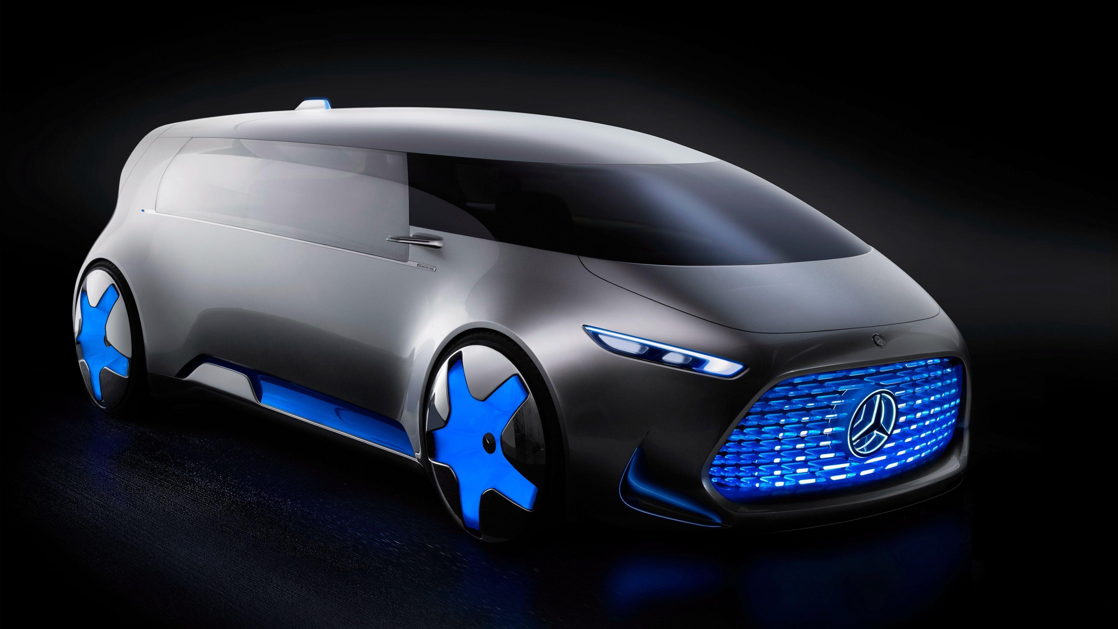 Mercedes Benz Vision Concept Electric Wallpapers
