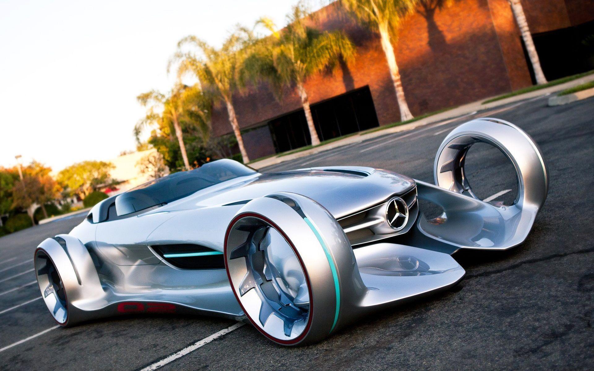 Mercedes Benz Silver Lightning - wallpaper.