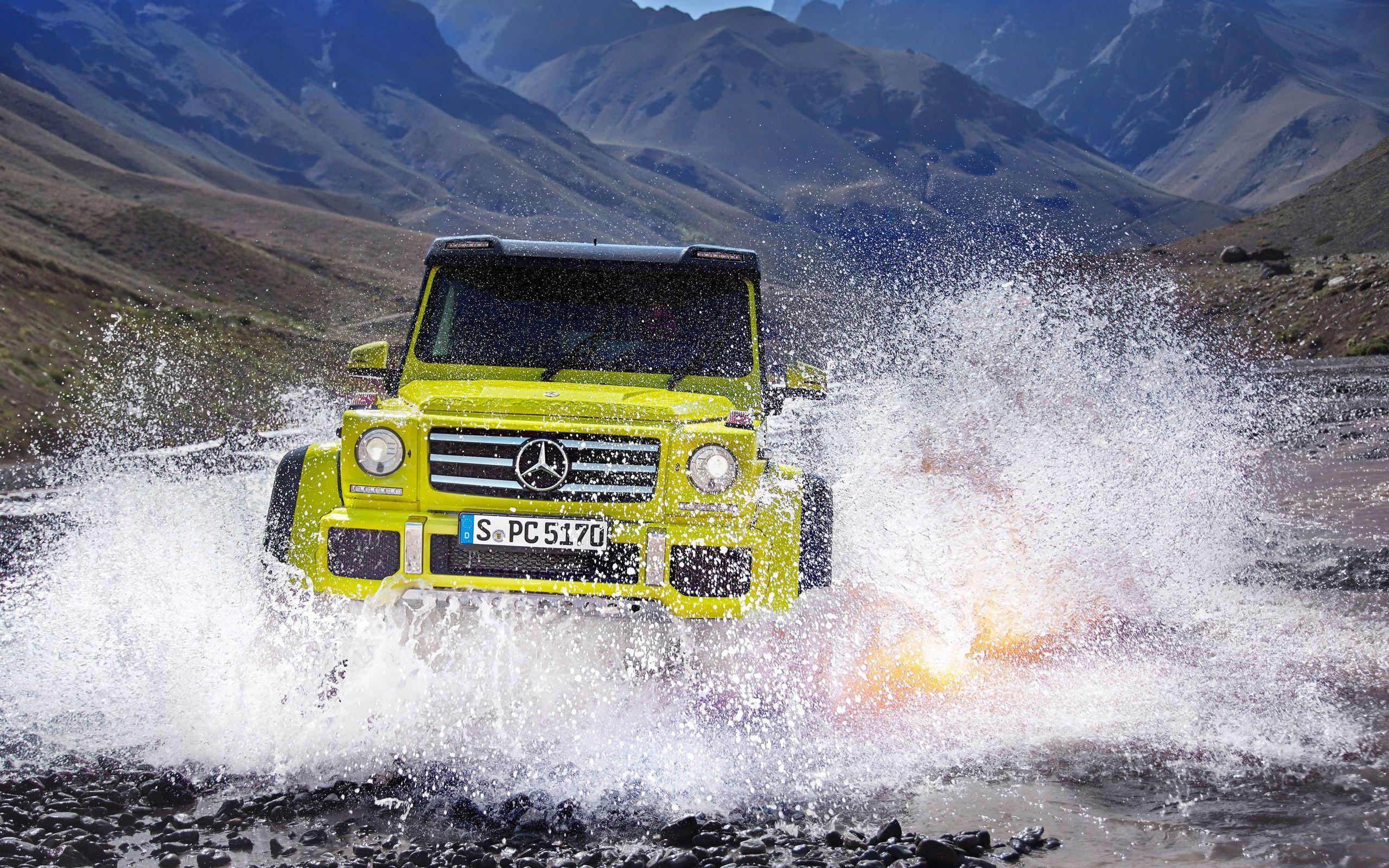 2015 Mercedes Benz G500 4x4 Wallpapers