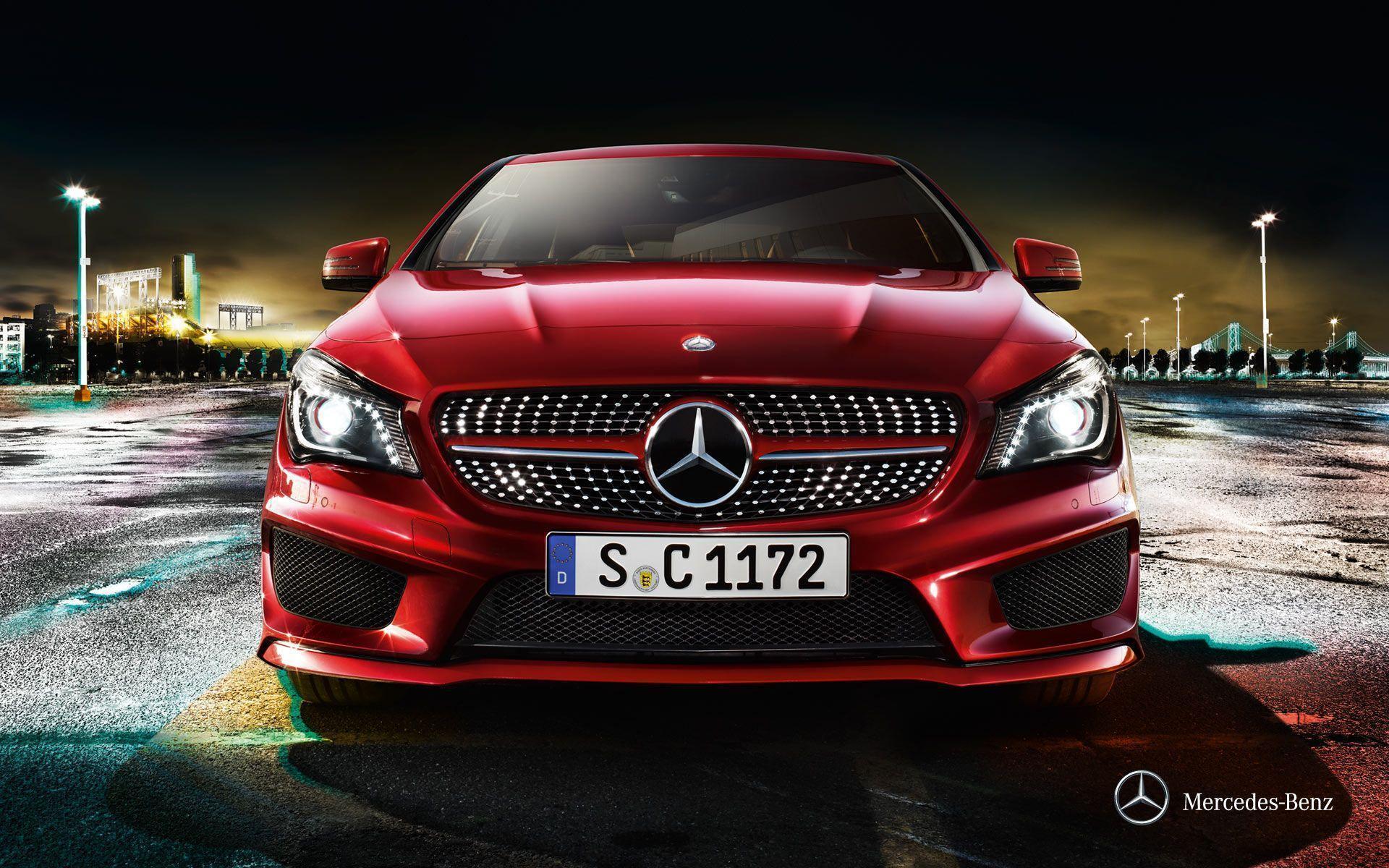 Mercedes Benz Widescreen Wallpapers