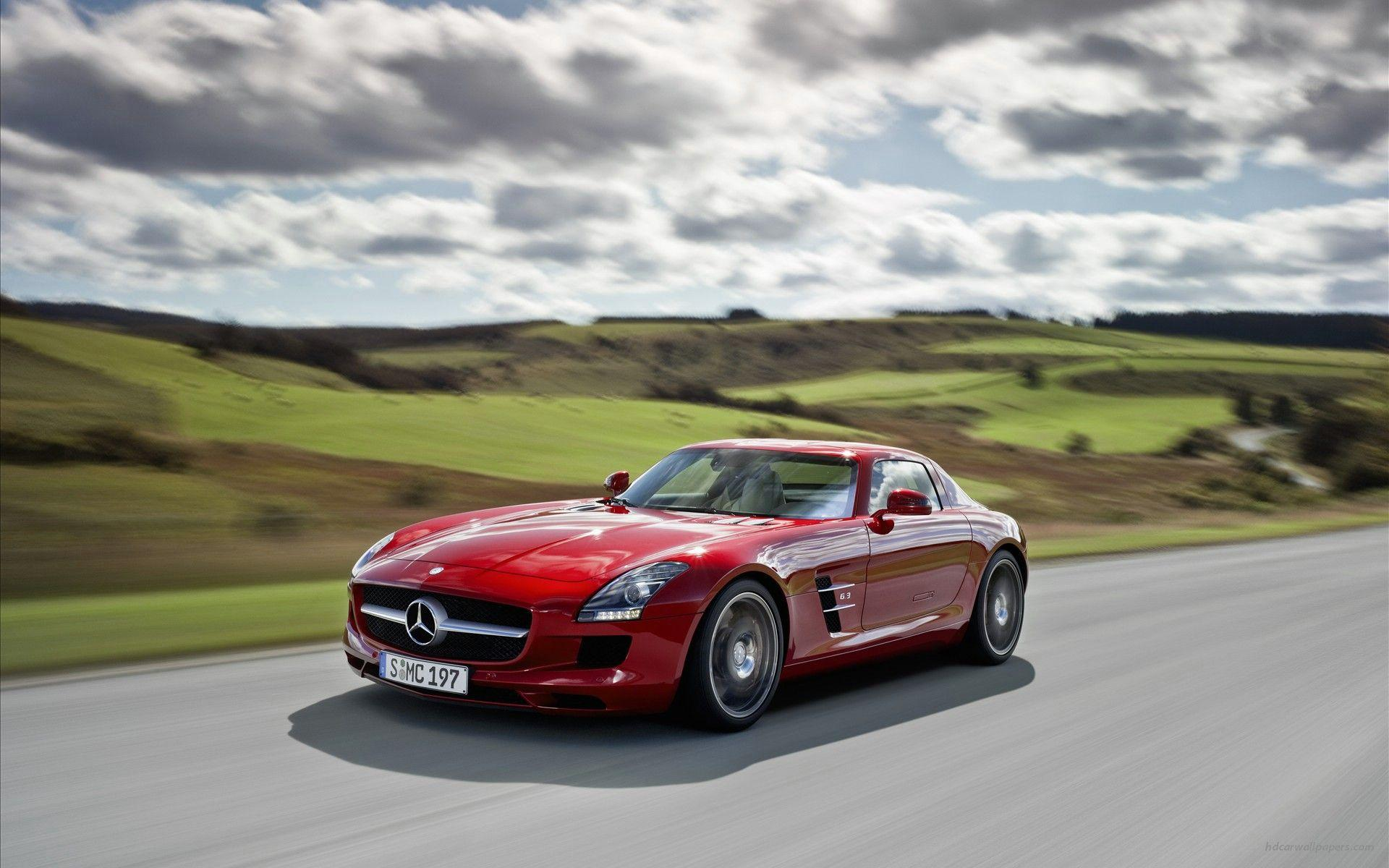 2016 Mercedes Benz SLS Wallpapers Wallpapers