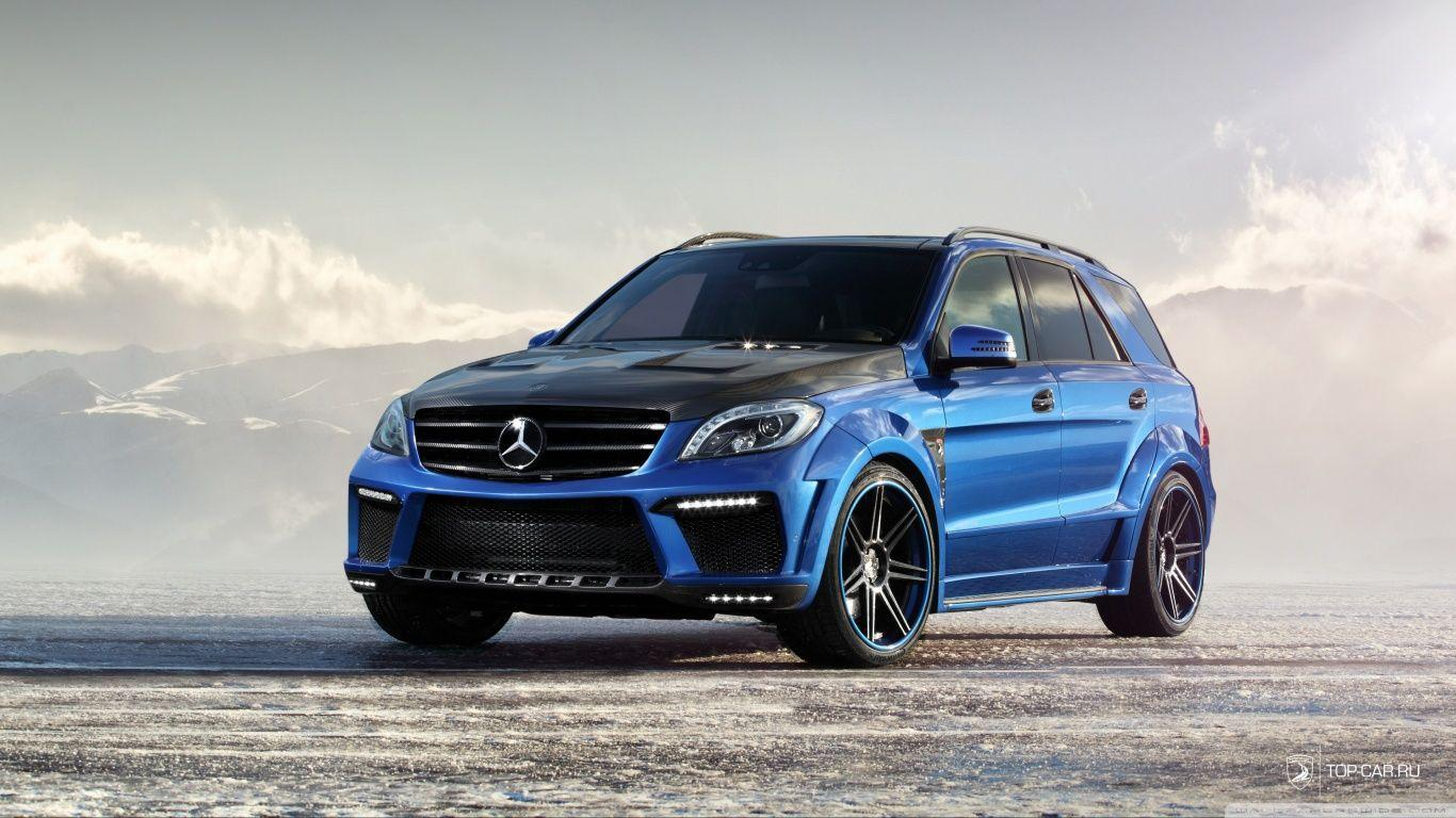 Mercedes Benz ML 63 AMG Inferno HD desktop wallpapers : Widescreen