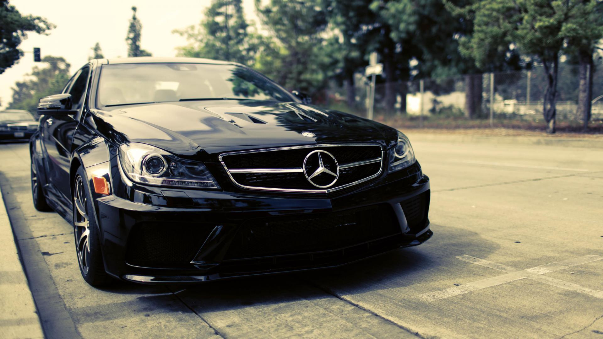 Black Mercedes Benz Hd Wallpapers