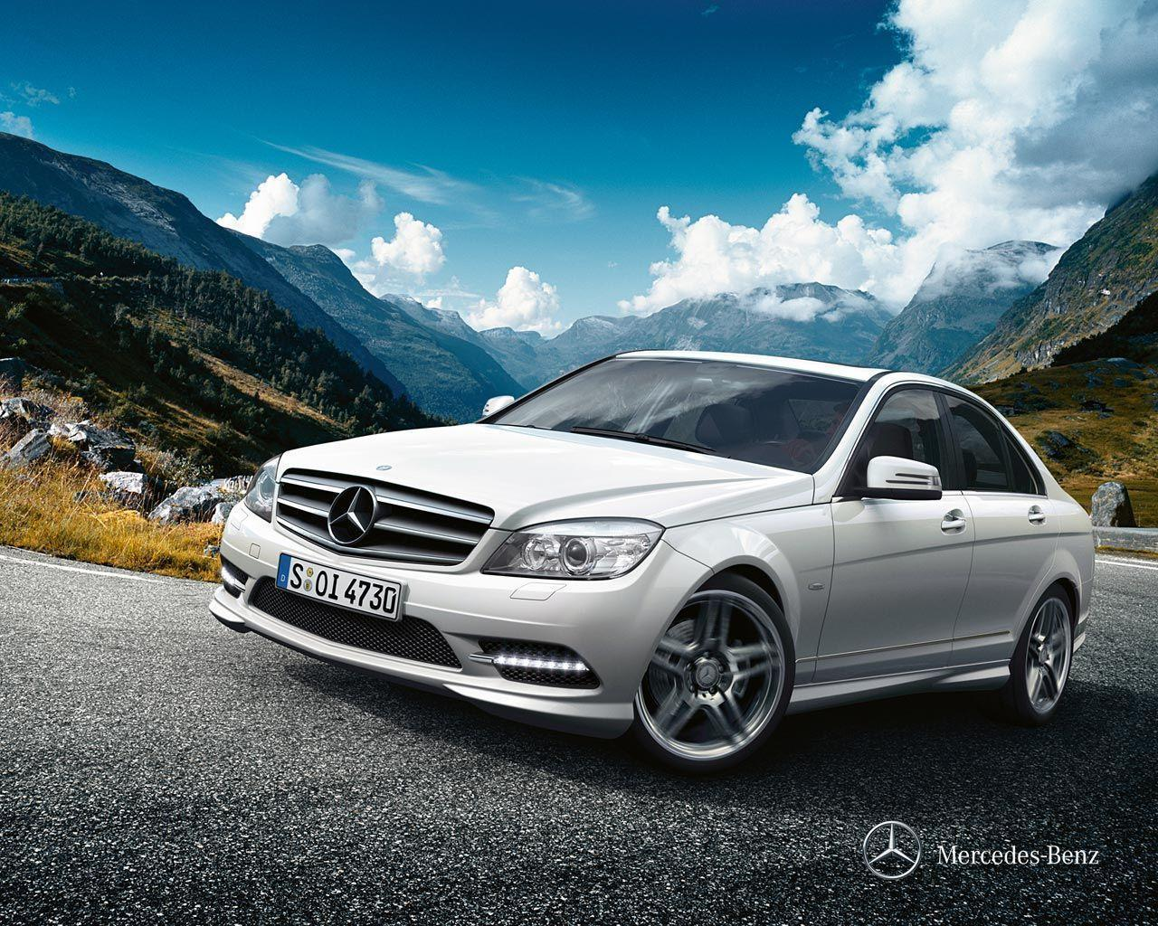 Mercedes Benz, Wallpapers and C class