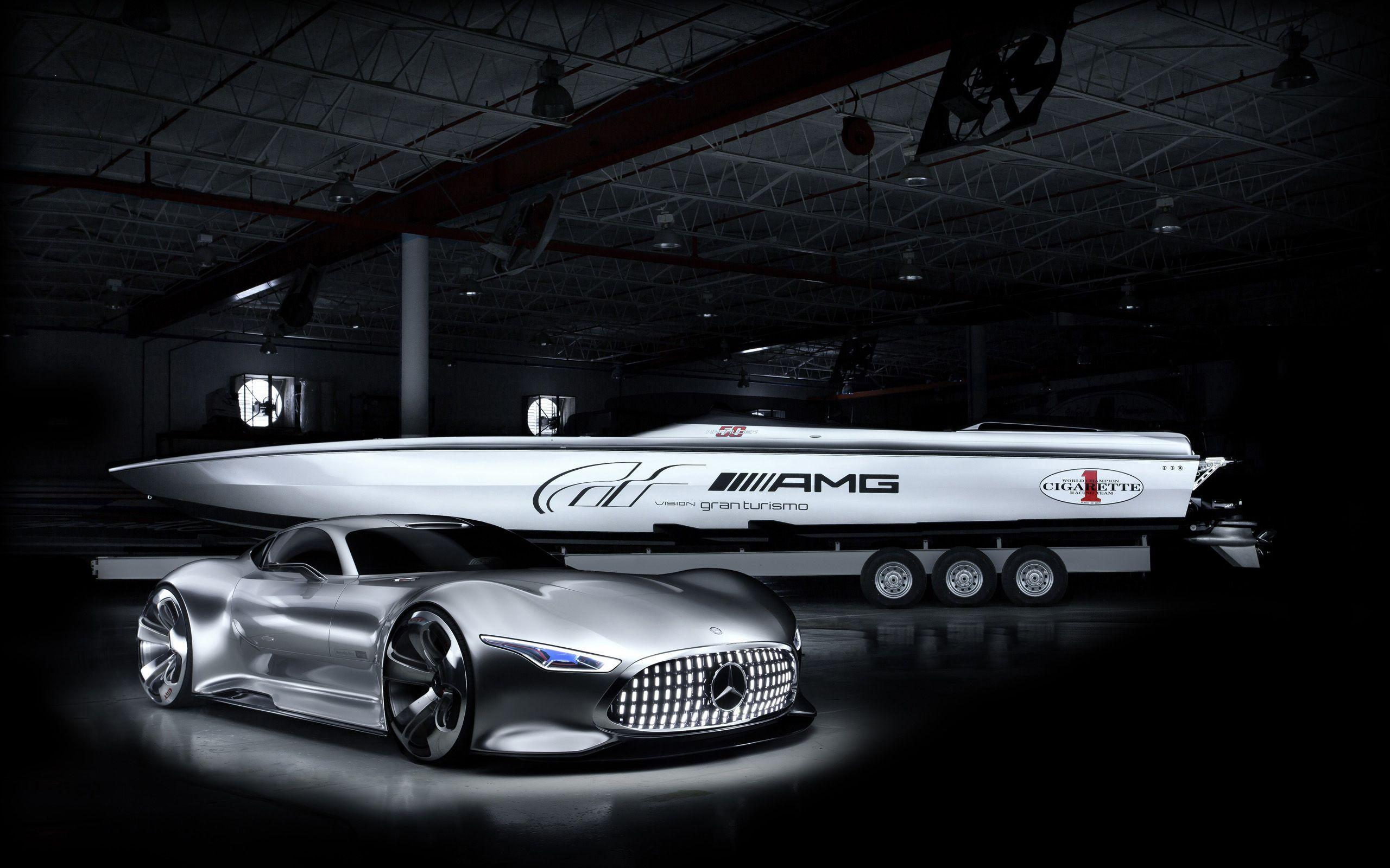 2014 Cigarette Racing Vision GT Mercedes Benz Wallpapers