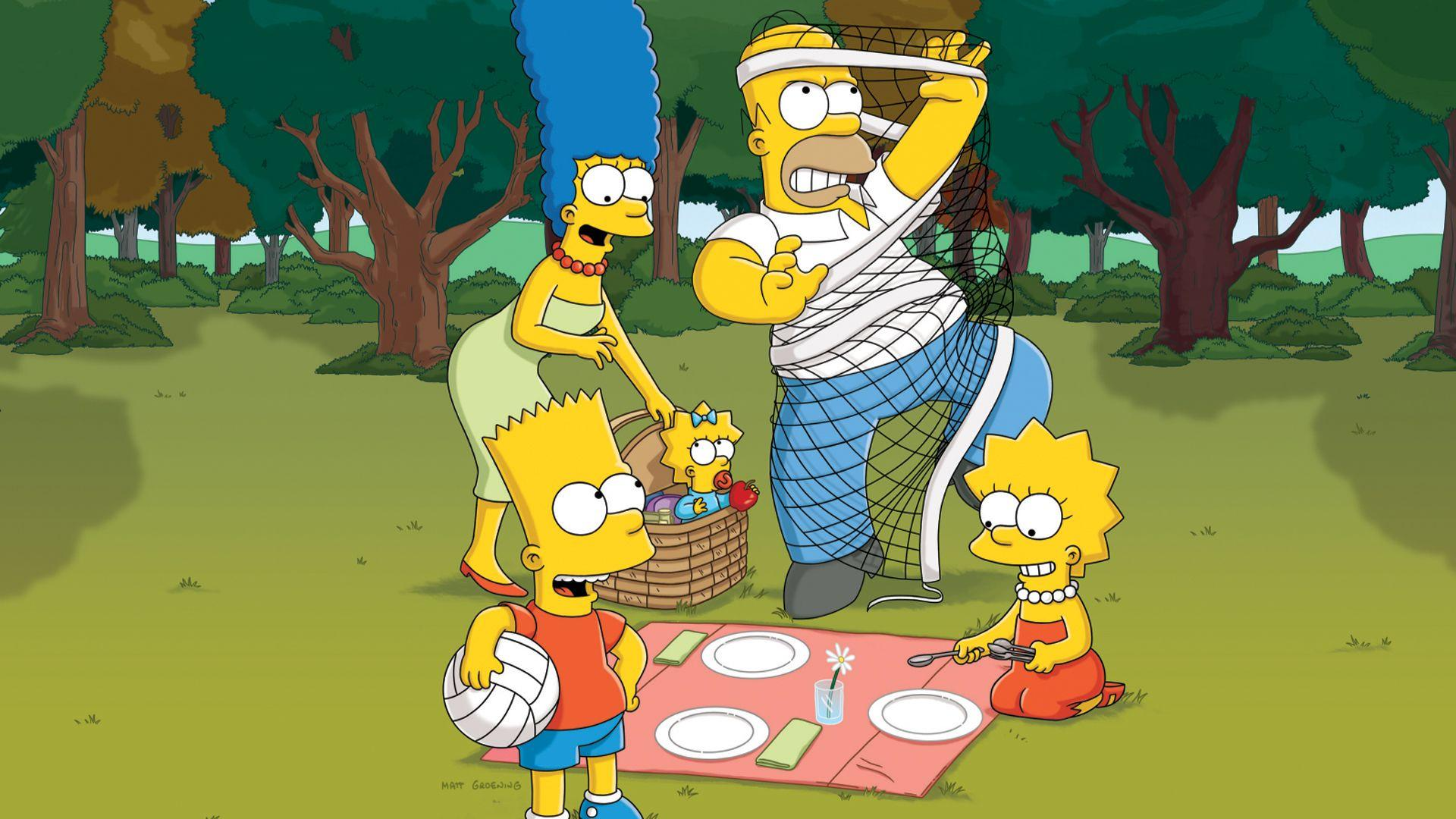 The Simpsons HD Wallpapers Group