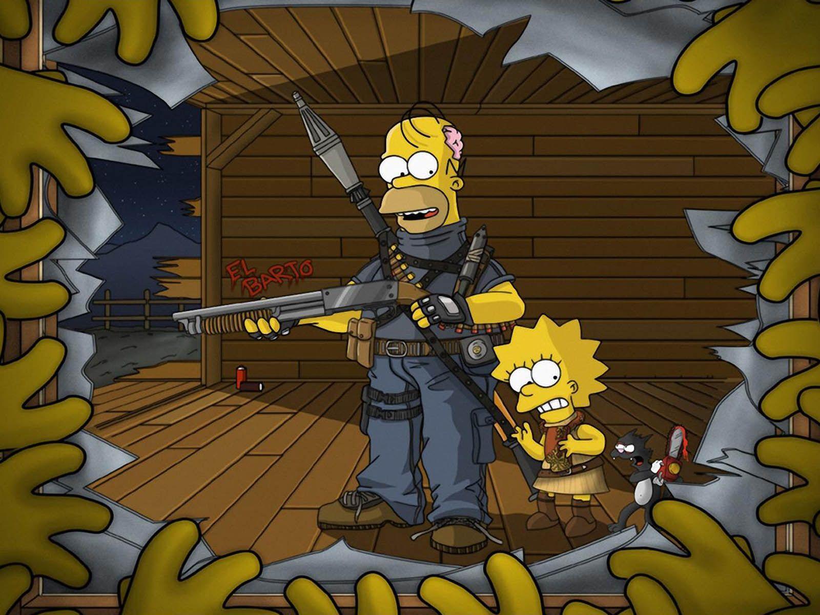 The Simpson Wallpaper - WallpaperSafari