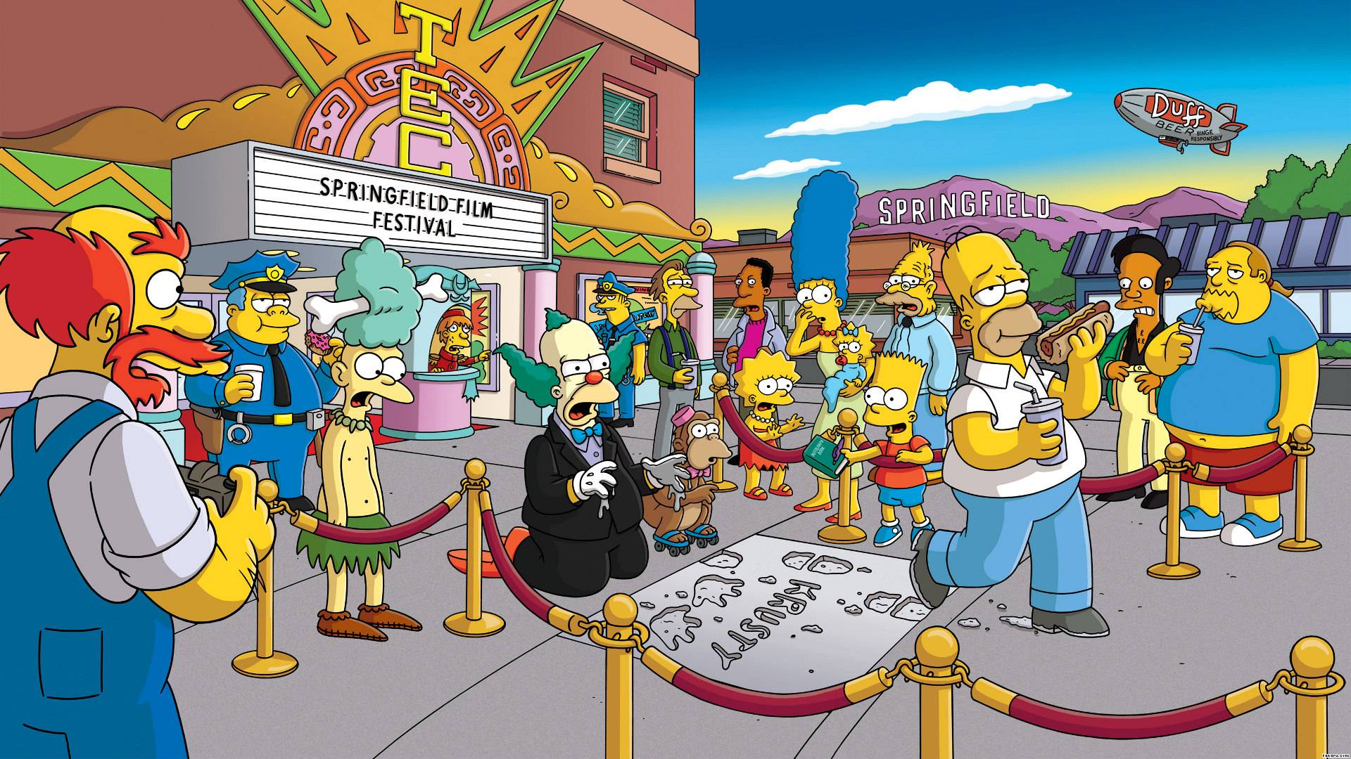High Resolution The Simpsons Wallpaper HD - SiWallpaperHD 29209
