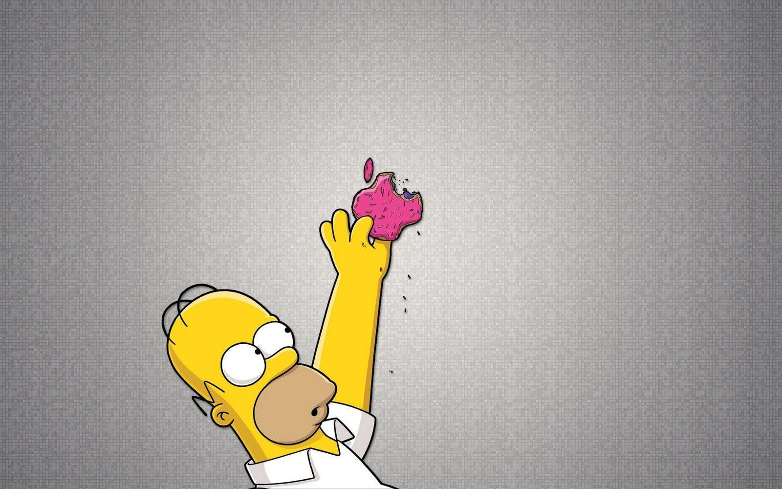 The Simpsons Wallpaper Apple | HD4Wallpaper.net