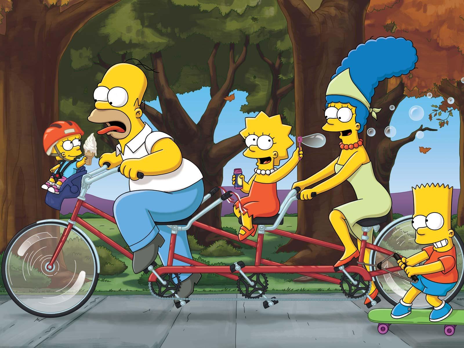 The Simpsons wallpaper HD background download desktop • iPhones ...