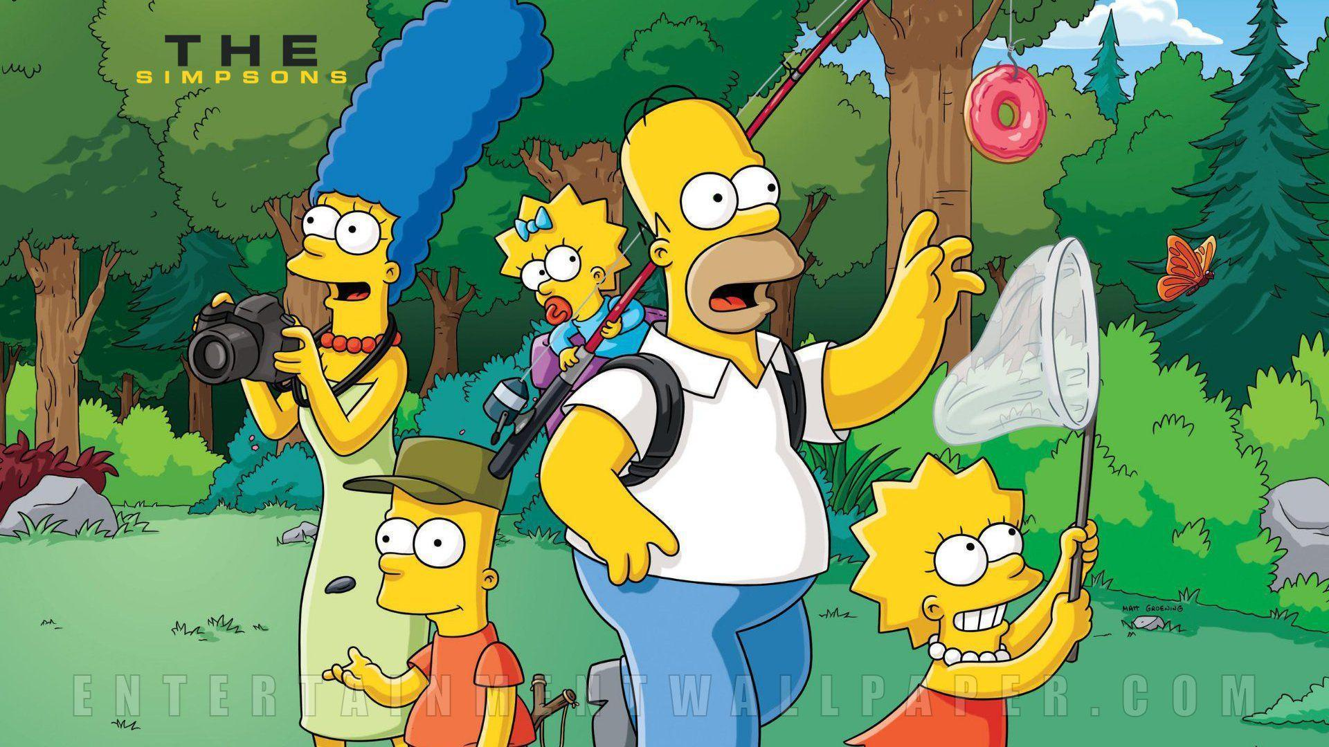 The Simpsons Wallpaper 84393 | DFILES
