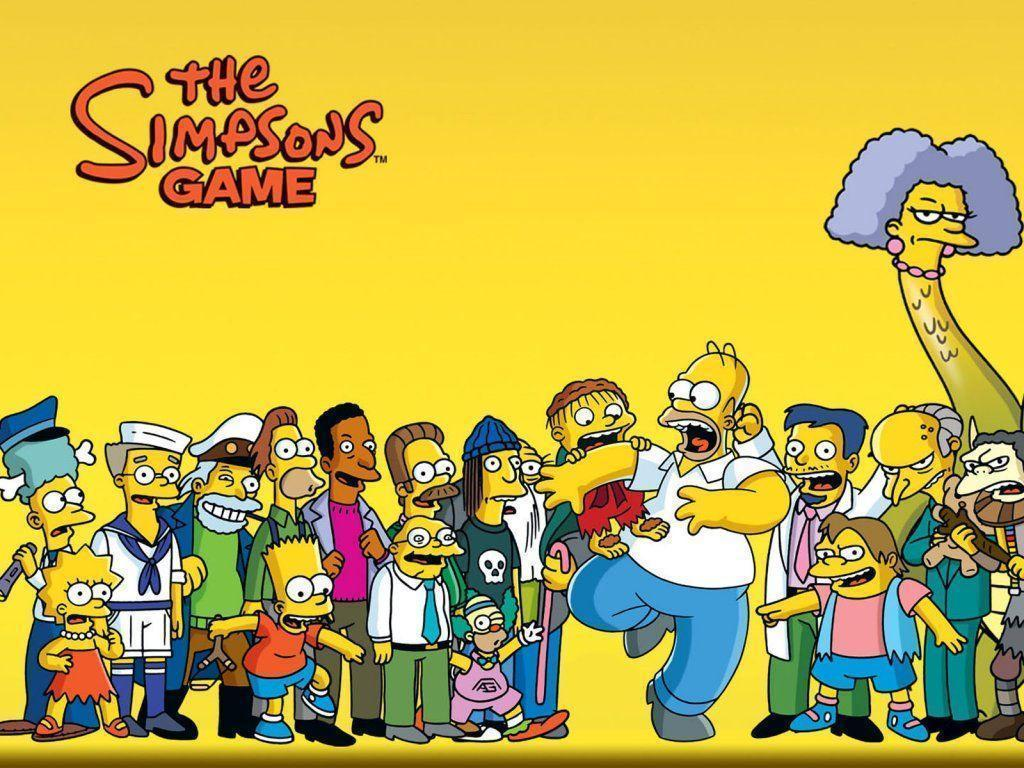 The Simpsons Wallpaper 1024x768 Wallpapers, 1024x768 Wallpapers ...