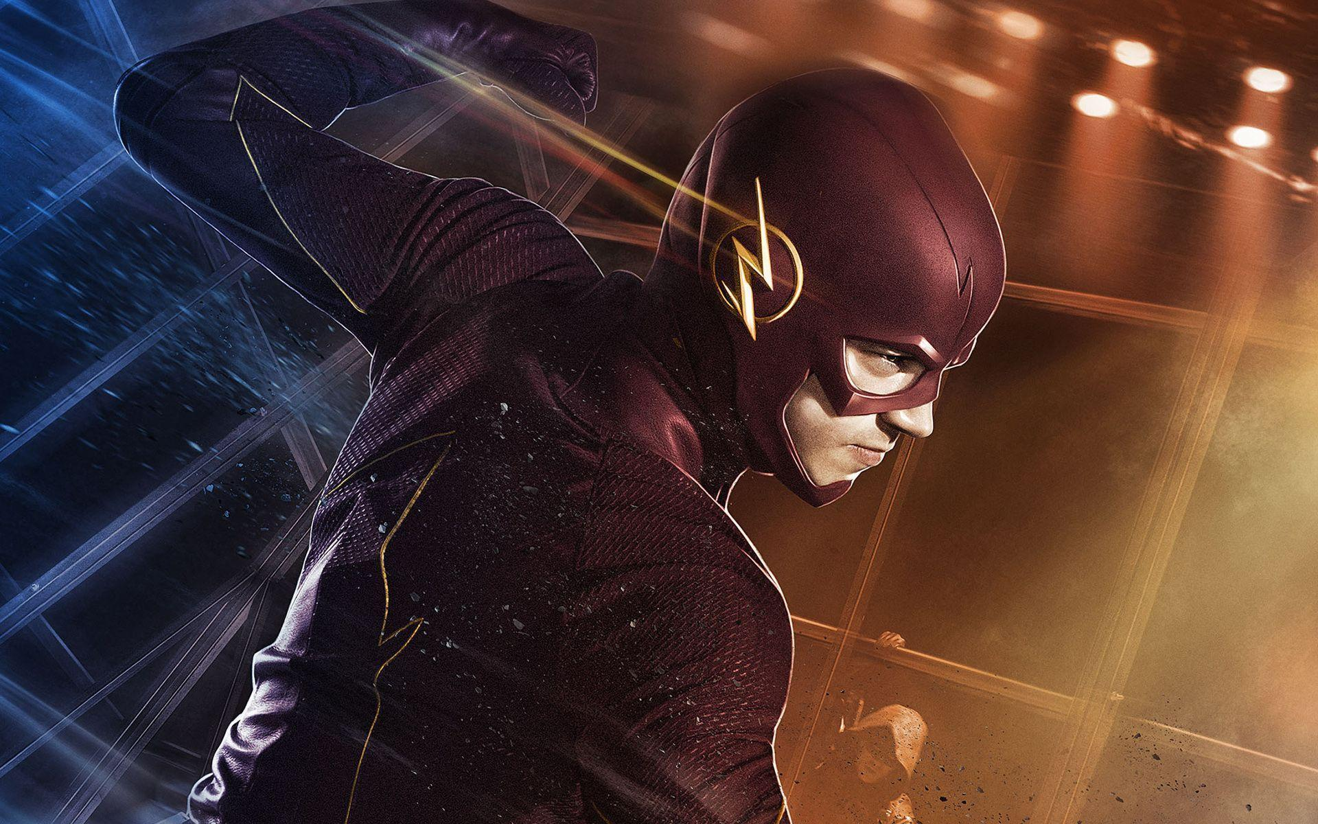 Grant Gustin as Barry Allen The Flash Wallpapers