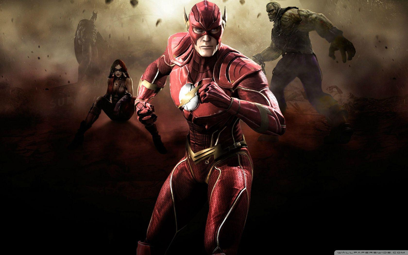Injustice Gods Among Us - Flash HD desktop wallpaper : Widescreen ...