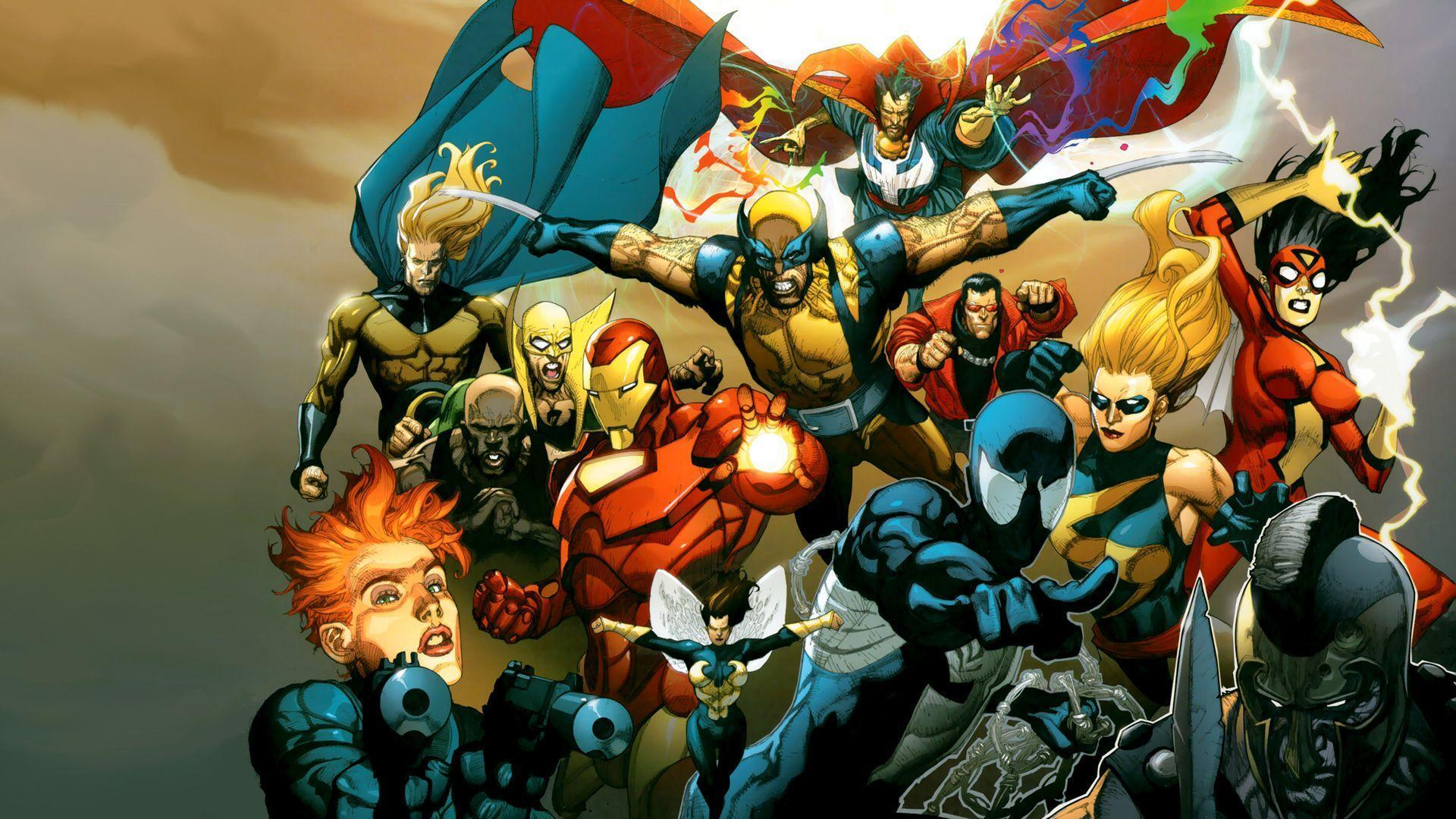 130 Marvel HD Wallpapers | Backgrounds - Wallpaper Abyss