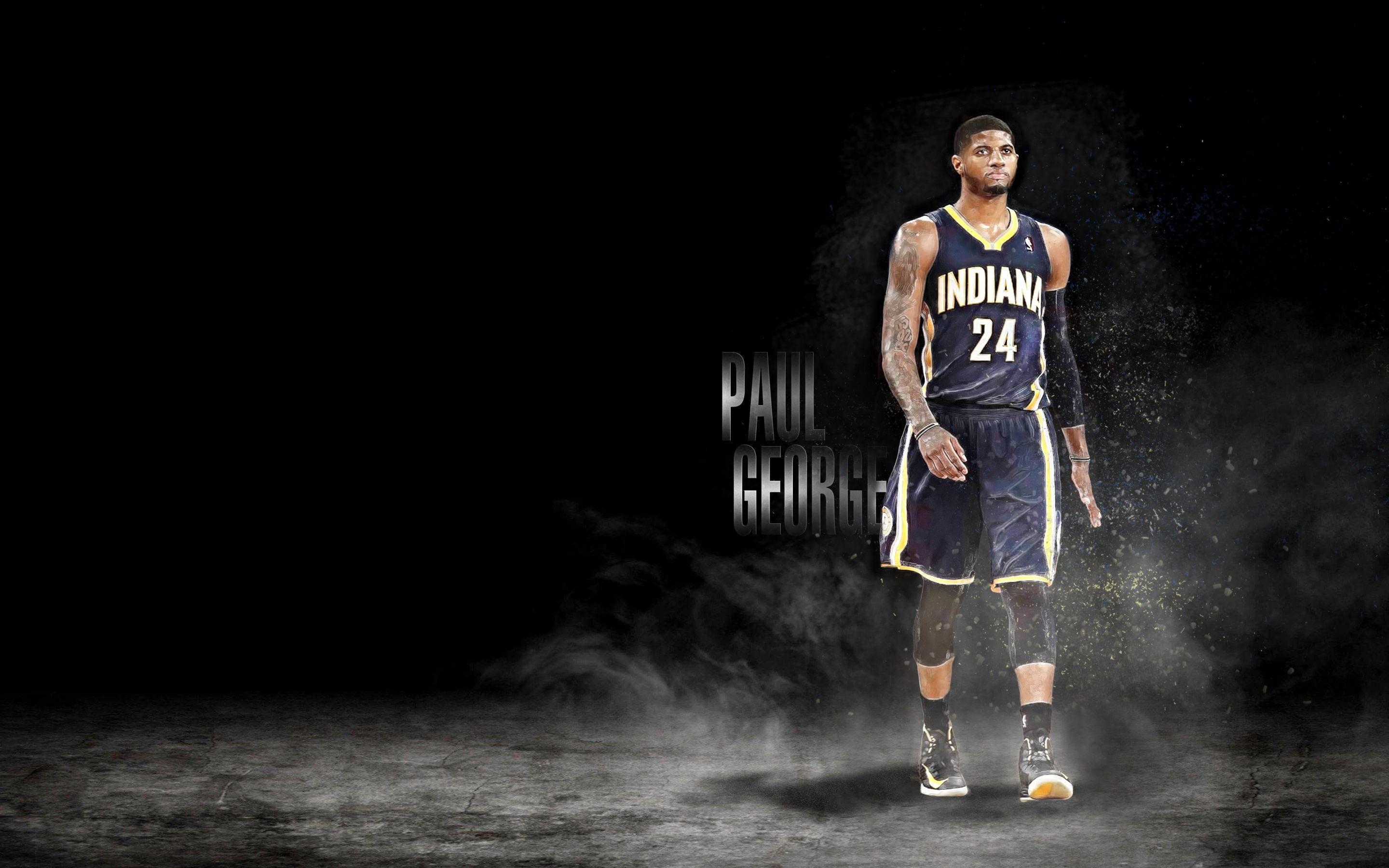 Paul George Wallpapers - Wallpaper Cave Basketball Players Wallpapers White