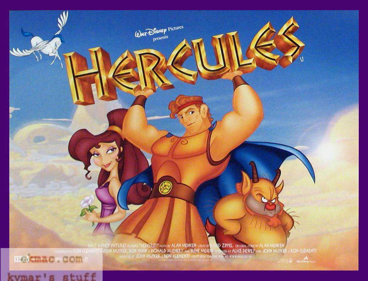 Disney Hercules HD Background Image for iPad - Cartoons Wallpapers