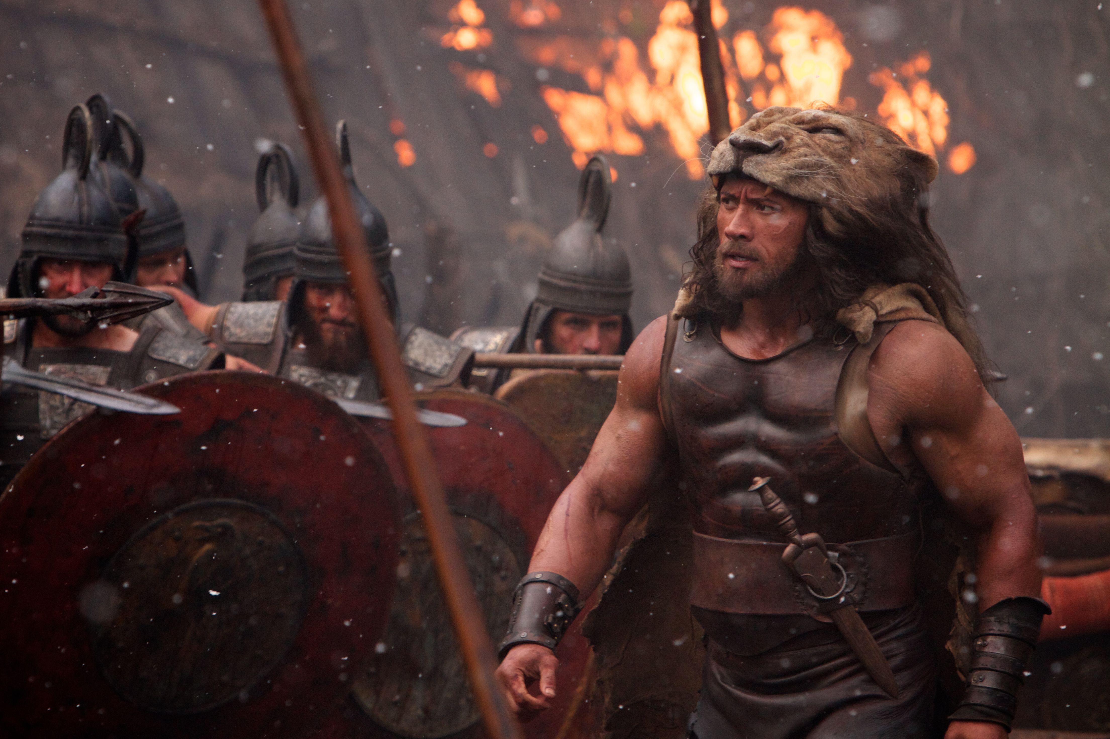 Hercules Images: Dwayne Johnson Battles a Lion, a Giant Boar, and ...