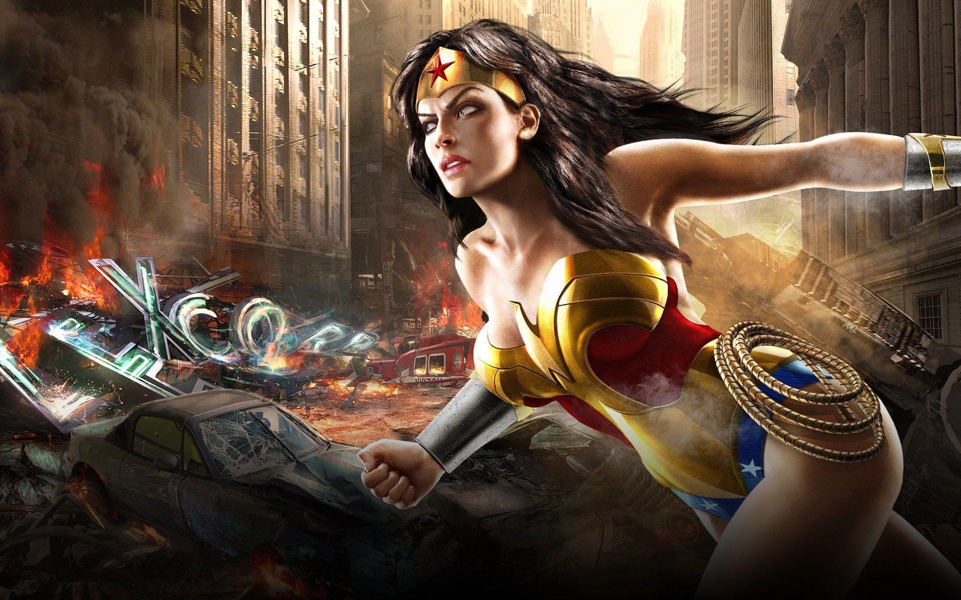 Wonder Woman Wallpaper Collection (40+)